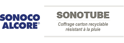 Sonotube - Coffrages en Carton recyclable